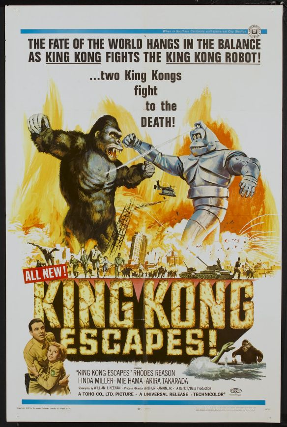 King Kong Escapes US Poster 1968