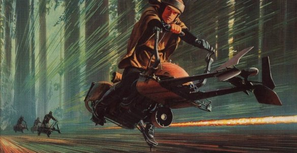 ralph-mcquarrie-return-of-the-jedi-endor-racing