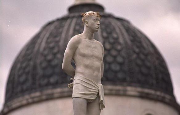 """Fourth Plinth: Mark Wallinger's """"Ecce Homo"""""""