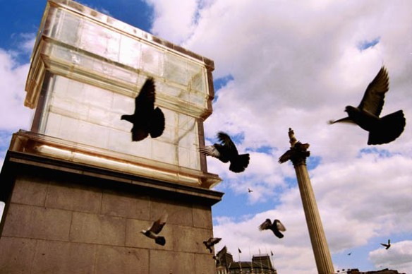 "Fourth Plinth: Rachel Whiteread's ""Monument"""
