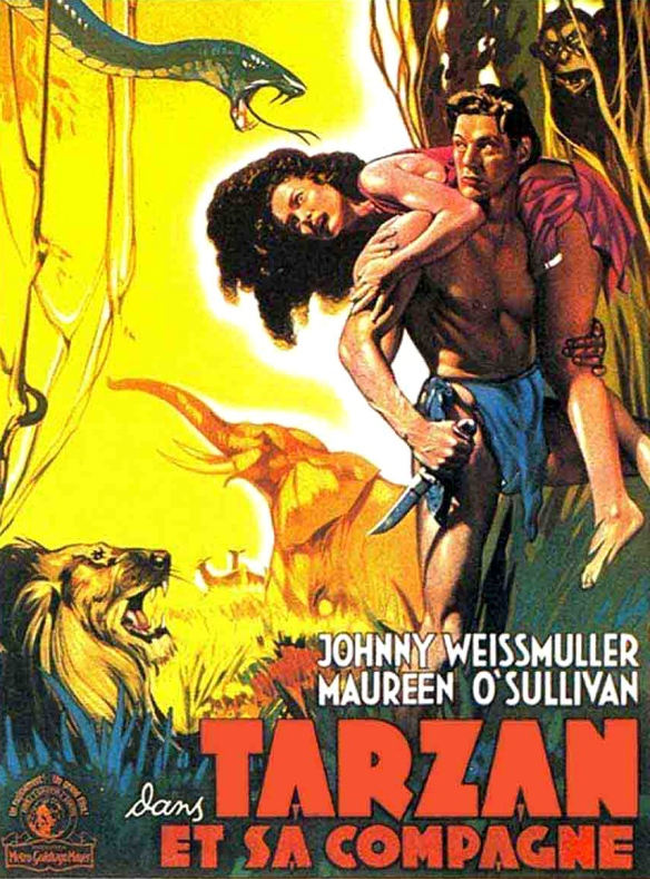 Poster - Tarzan and His Mate