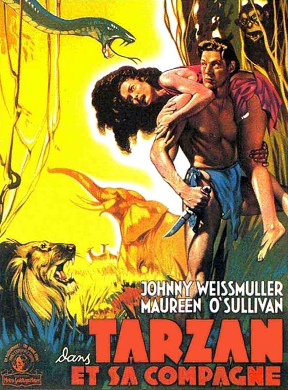 Poster - Tarzan and His Mate