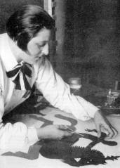 Lotte Reiniger at work