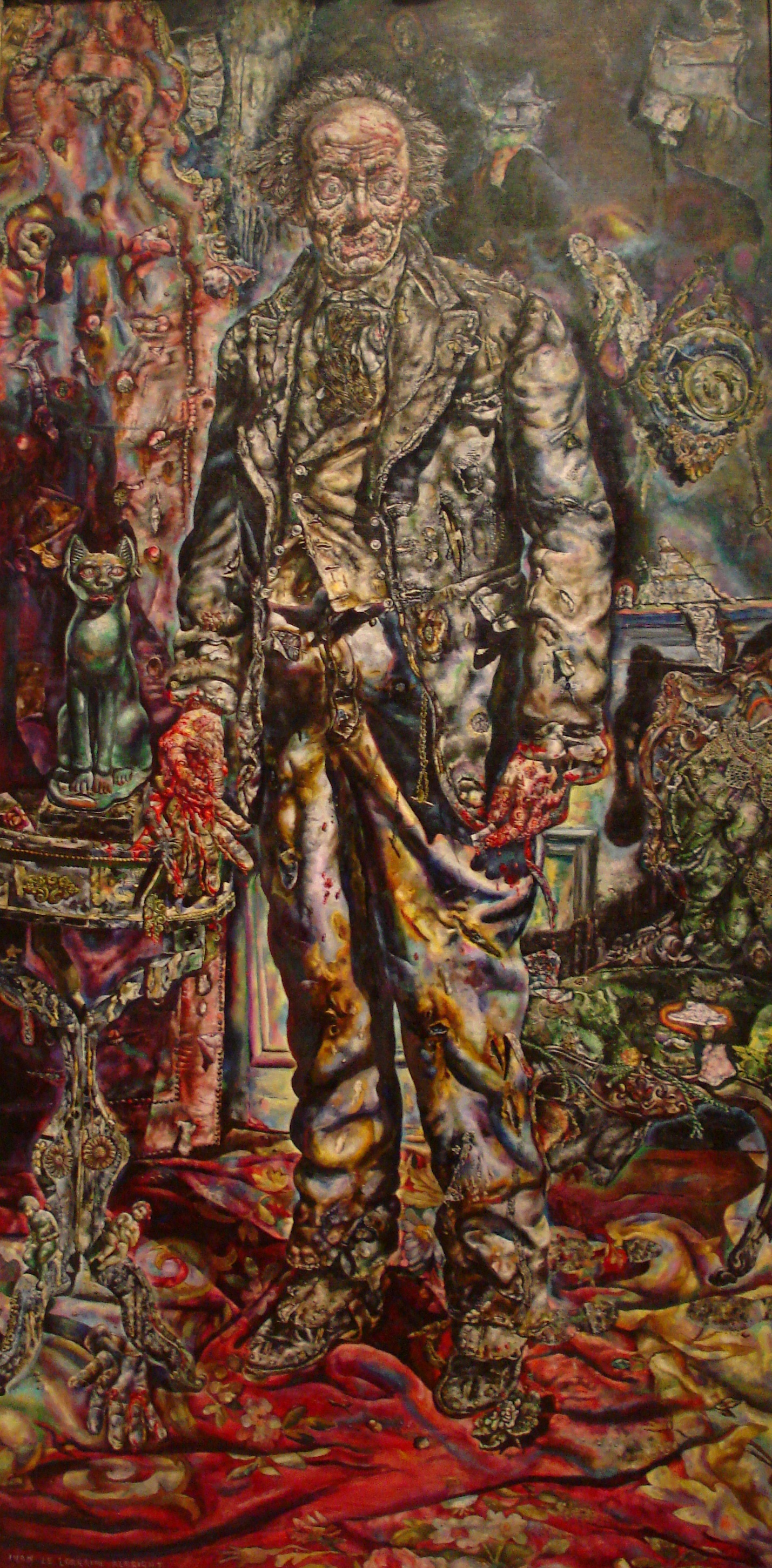 picture of the week ivan albright s dorian gray spectacular dorian gray