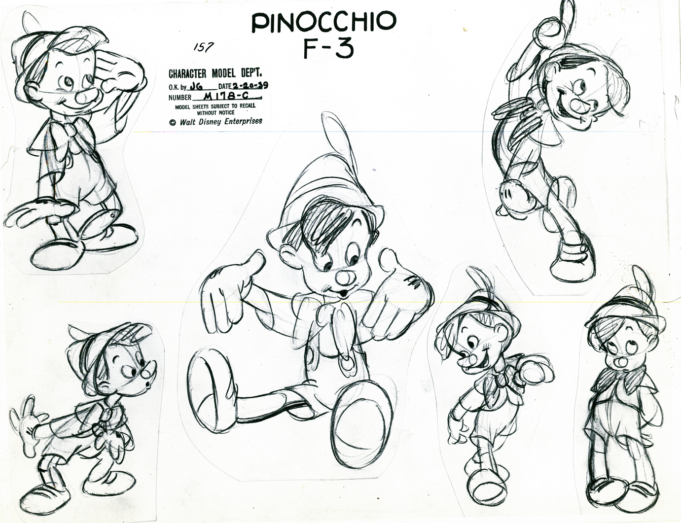 Character Design Tips Disney : Walt disney s pinocchio motion pictures spectacular