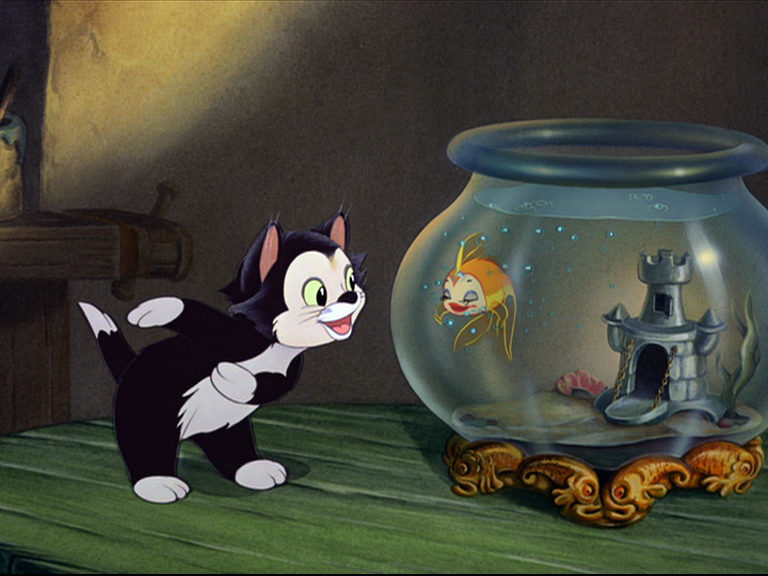 Pinocchio Figaro Gif