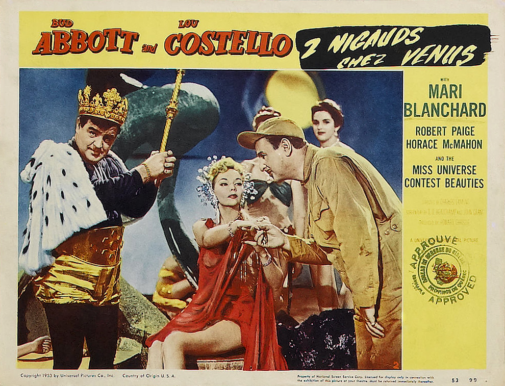 Abbott and Costello Go to Mars - Alchetron, the free ...