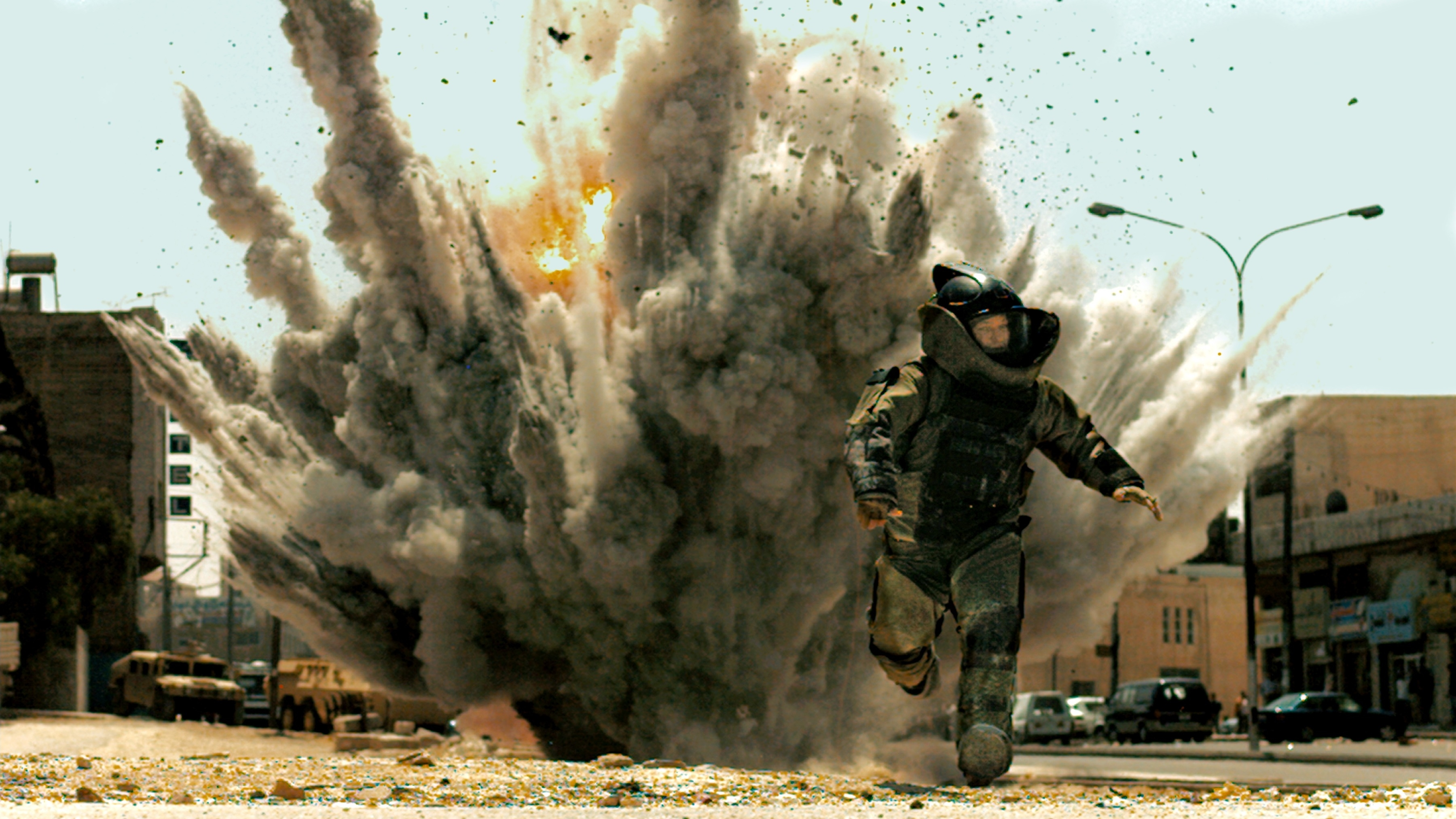 As I was writing this, The Hurt Locker was picking up six BAFTAs