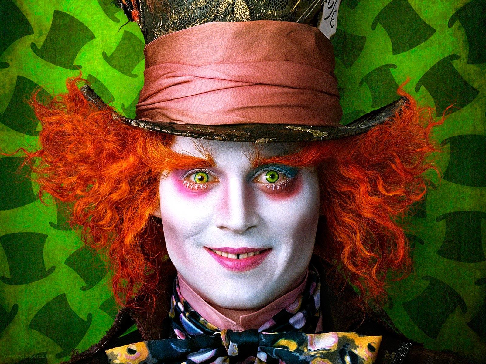 Alice I Wonderland 2010 Johnny Depp
