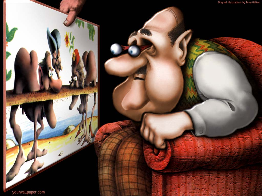 Monty Python Cartoon