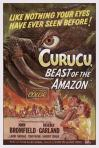 1956 - Curucu, Beast Of The Amazon (Poster)