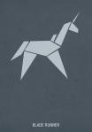 minimalist hexagonall blade runner