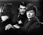 Cary Grant and Joan fontaine in Alfred Hitchcock's Suspicion