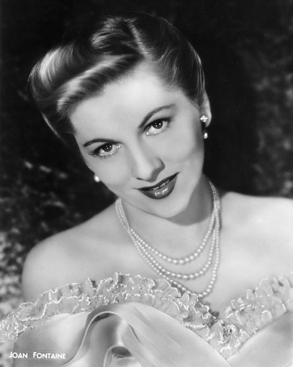 Picture of the Week #52: Happy Birthday Joan Fontaine ...
