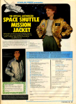Space Shuttle Mission Jacket advertisement