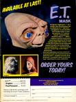 E.T. The Extra Terrestrial Mask