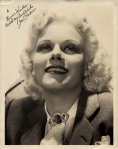 jean harlow autographed