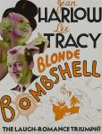 jean harlow in blonde bombshell movie poster