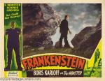 Frankenstein lobby card