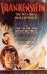 Karloff Frankenstein poster