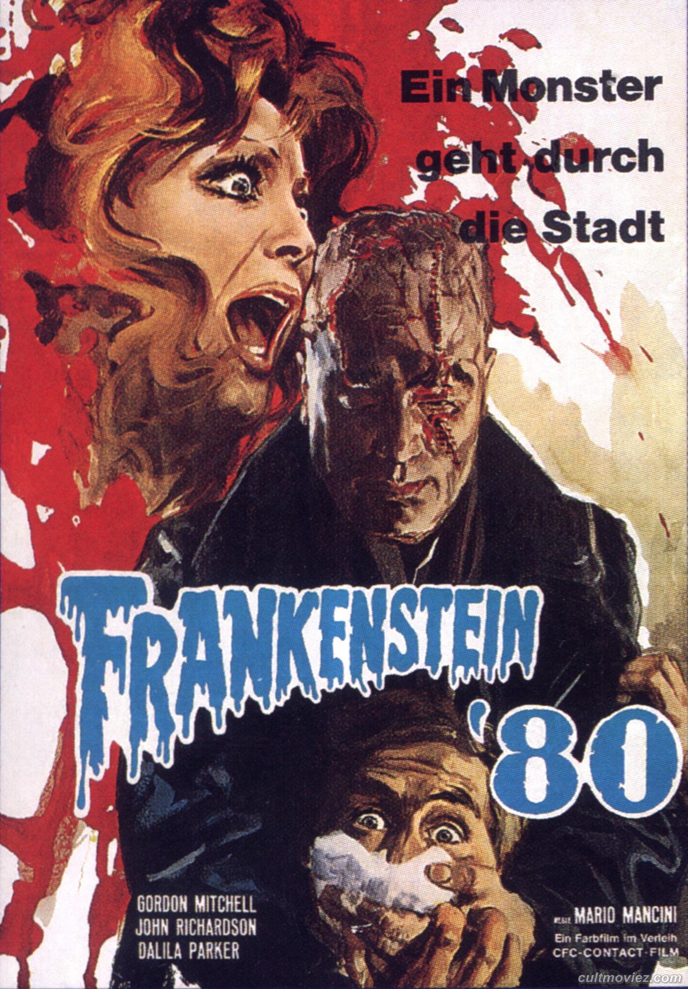halloween picture of the week  50 frankenstein movie posters