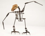Willis O'Brien War Eagles stop-motion armature