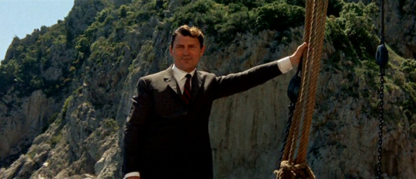 Jack Palance as Prokosch in Jean-Luc Godard's Le Mepris Contempt
