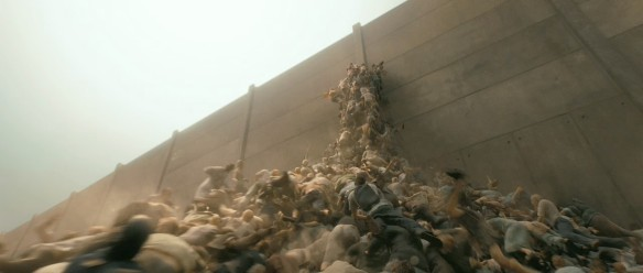 World War Z zombie swarm