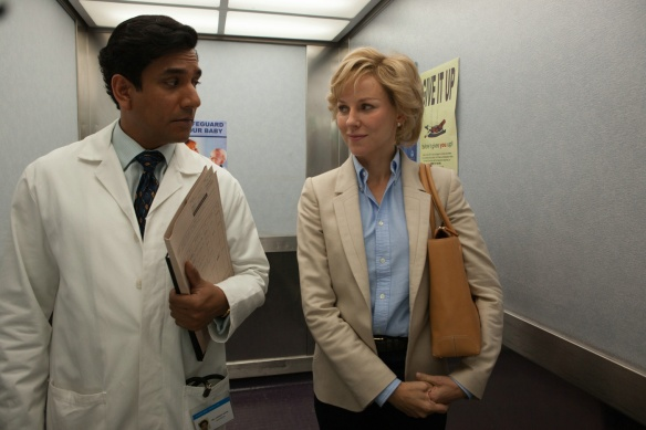 Naomi Watts and Naveen Andrews in Diana