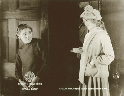 Mary Pickford and Mary Pickford in Stella Maris (1918)