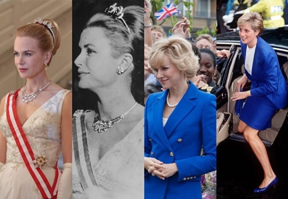 Nicole Kidman Grace of Monaco Naomi Watts Diana
