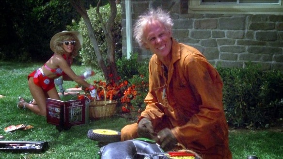 The Burbs Wendy Schaal and Bruce Dern