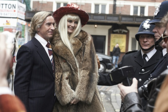 Steve Coogan and Imogen Poots in The Look of Love