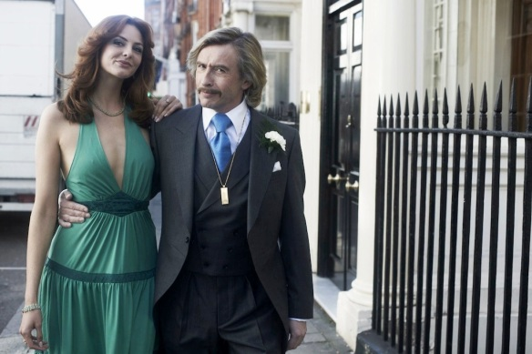 Steve Coogan and Tamsin Egerton in The Look of Love