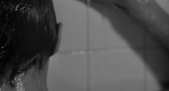 Janet Leigh as Marion Crane in the shower scene from Alfred Hitchcock's Psycho